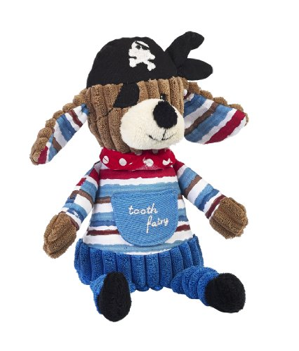 Fairy Pirate (Maison Chic Patch The Pirate Dog Tooth Fairy Plush)