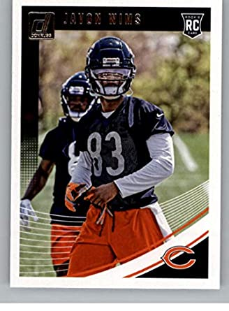 official photos 30d4f 185af Amazon.com: 2018 Donruss Football #391 Javon Wims RC Rookie ...