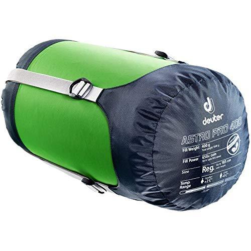 Deuter Astro Pro 400 Saco de Dormir, Unisex Adulto, Verde (Spring), Talla Única: Amazon.es: Deportes y aire libre