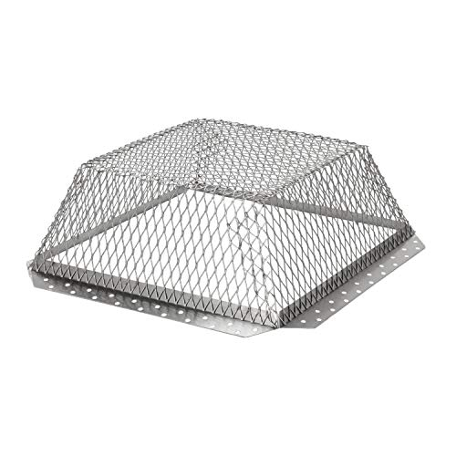HY-C RVG1616 Stainless Steel Roof VentGuard with Wildlife Exclusion Screen, 16