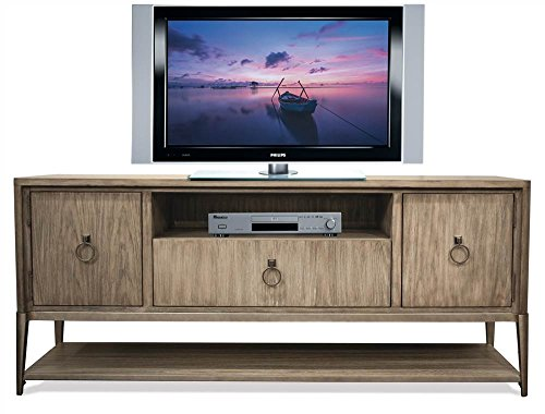 Entertainment Console in Natural Finish