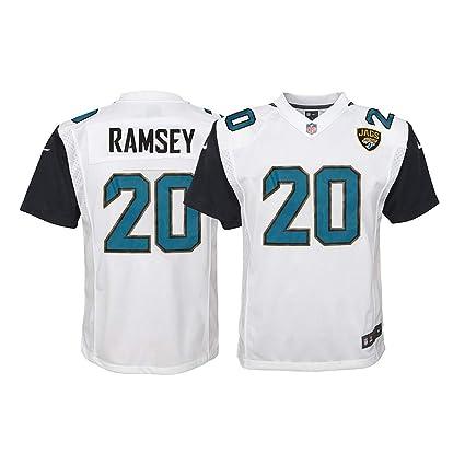 c8db7016 Amazon.com : Nike Jalen Ramsey Jacksonville Jaguars NFL Youth White ...