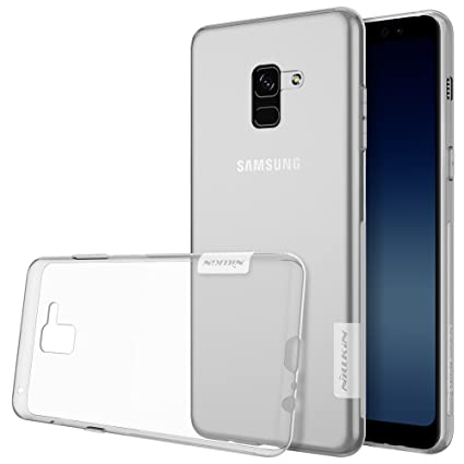 the best attitude 72557 752cf Nillkin TPU Back Cover for Samsung Galaxy A8 plus (White)