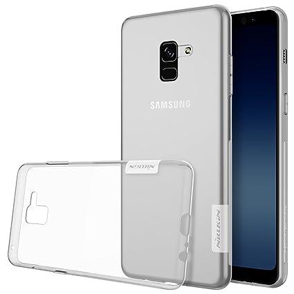 the best attitude 777ba c2f63 Nillkin TPU Back Cover for Samsung Galaxy A8 plus (White)