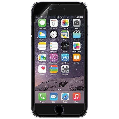 Amzer ShatterProof Screen Guard Scratch Shock Drop Protector Shield for Apple iPhone 6 Plus, iPhone 6s Plus - Retail Packaging - ShatterProof