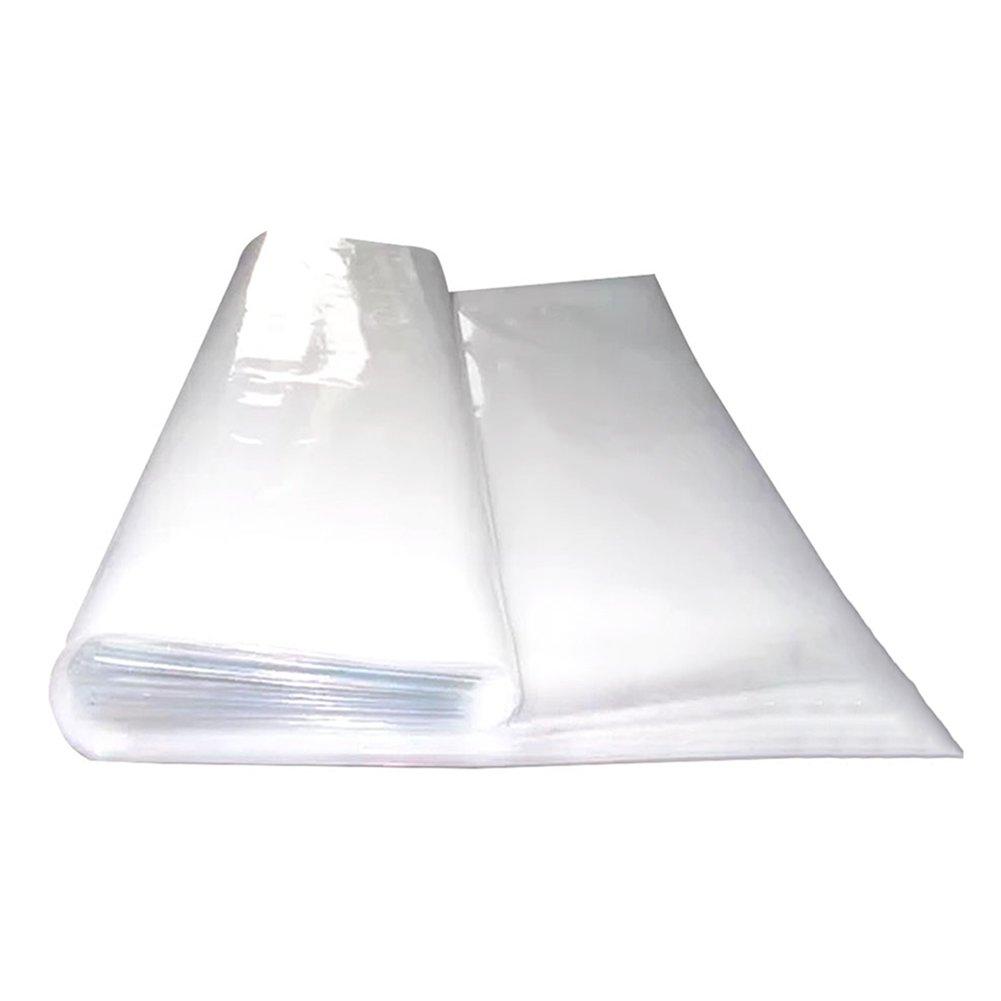 WUFENG オーニング 耐寒性 プラスチッククロス 防水 防塵 防風 超厚い トランスペアレント 大型フィルム 窓を封印する 農業用 厚さ0.12mm 重量80g/M2 (色 : クリア, サイズ さいず : 12x11m) B07D8Y37DF クリア 12x11m