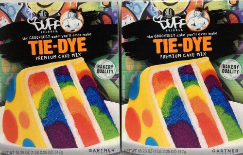 Duff Goldman Premium Tie-Dye Cake Mix (2 Pack)]()