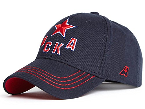 HC CSKA Red Army Moscow KHL Russian Hockey Club Hat Cap, dark blue , size L/XL