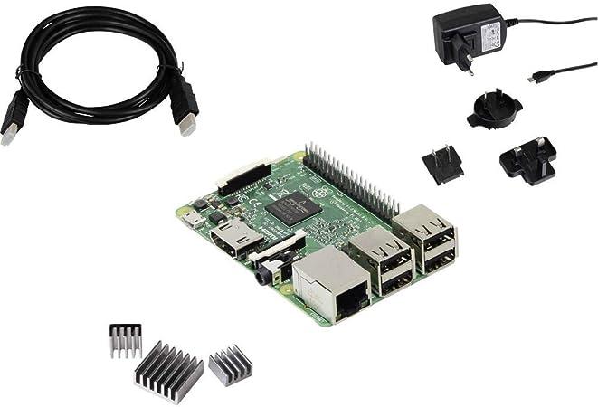 Joy It Rb Pure Set Raspberry Pi 3 B 1gb 4 X 1 2ghz Elektronik
