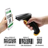TEEMI QR barcode scanner Handheld Automatic USB wired Review and Comparison