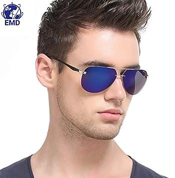 Gafas de sol Aviador de diseño - Polarizadas - Efecto espejo ...