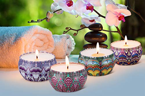 Scented Meditation Candles Gift Set