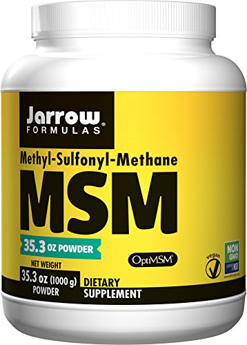 Jarrow Formulas MSM, Strengthens Joints, 1000 mcg, 1 kg