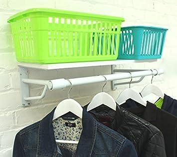 The Shopfitting Shop Blanco 2 m de Ancho (600 mm) montado en ...