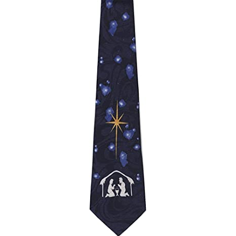 Corbata Corbata Cristiana Para Hombres Escena De La Natividad ...