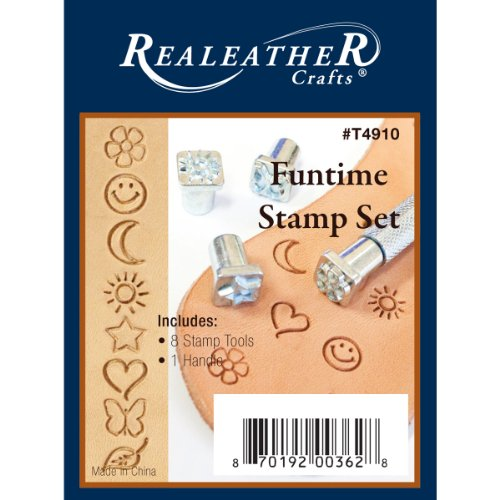 Realeather Crafts Funtime Stamp Set by Realeather Crafts (Image #1)
