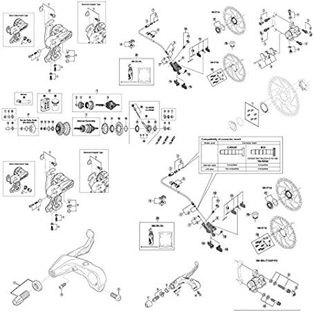 SHIMANO Schalthebel Fahrrad RevoShift Tourney Drehgriffschalter 3 6 7 Fach