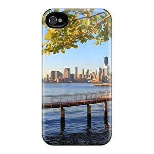 PoTcBmL5088LYqbd Dana Lindsey Mendez Hudson River Walkway Overlooking Nyc Feeling Iphone 4/4s On Your Style Birthday Gift Cover Case