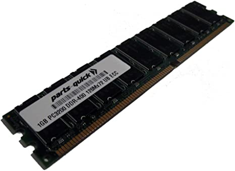 PARTS-QUICK Brand ABIT WI-1P Motherboard 1GB Memory PC3200 DDR ECC DIMM RAM Upgrade