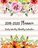 2018-2020 Planner: Three Years - (1095 Day) Daily Weekly Monthly Calendar Planner | 36 Months January 2018 to December 2020 For Academic Agenda Monthly Calendar Academic Planner (Volume 5)