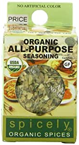 Spicely Organic All Purpose Seasoning - Compact