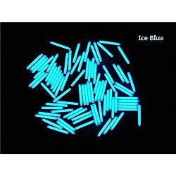 Oursmile 1 PCS 3x22.5mm Trit Vials Tritium Self-luminous 15-Years (Ice Blue)