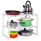 Hyun times Kitchen Stores Functionally Retractable With A Stainless Steel Shelf