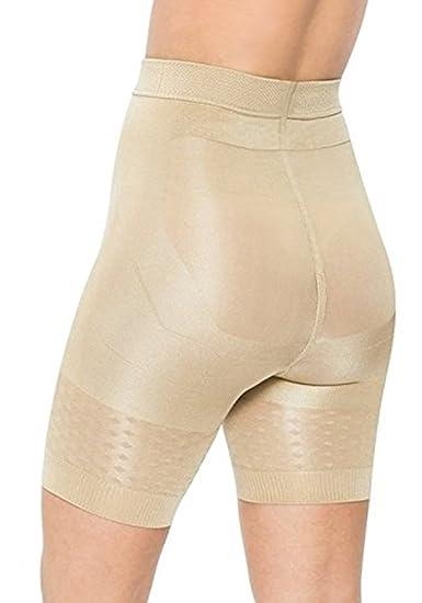 cb1c9cbe9b JML Womens Comfy Belvia Slimming Shorts Underwear Shapewear Large Beige   Amazon.co.uk  Clothing