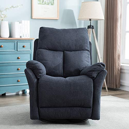 Classic Brands Twinkle Twinkle Popstitch Upholstered Recliner Chair, Charcoal