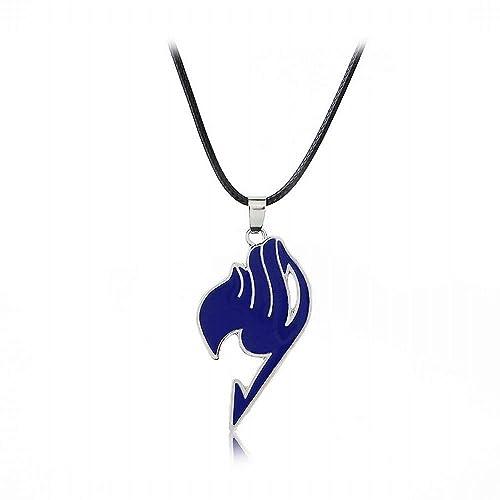 XZJX Anime Jewelry Fairy Tail Guild Logo 4 Color Zinc ...