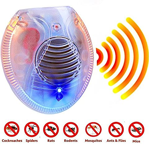 Ultrasonic Rodent Electronic Plugin Pest Repeller (Gopher Poison Machine)