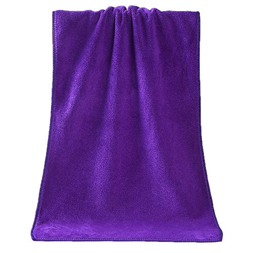 - Vansee❤❤1PC Towel Shower Absorbent Superfine Fiber Soft Comfortable Towel Bathroom : Shower : Faucets : Home & Living : Bath : Waterproof : Kitchen (Purple)