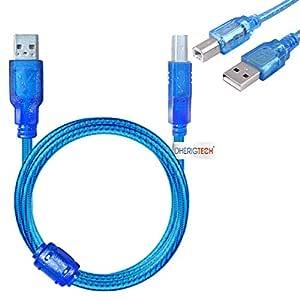 Cable USB de Datos de 5 m para Impresora Brother DCP-J4120DW A3 ...