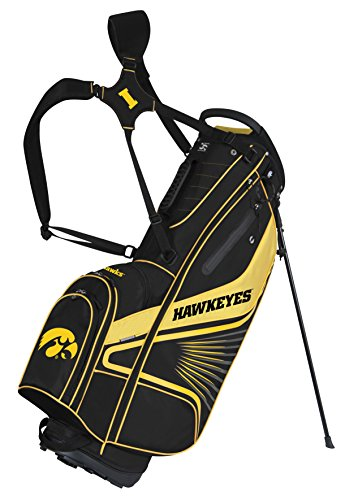 Team Effort Iowa Hawkeyes Gridiron III Stand - Bag Iowa Cart Hawkeyes Golf
