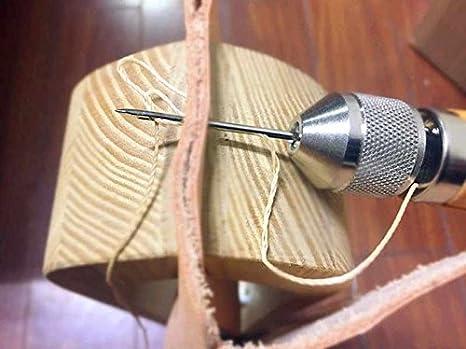 Hrph Profesional Speedy Stitcher Costura Awl Kit de herramientas para la vela de cuero y lona Reparación pesada: Amazon.es: Hogar