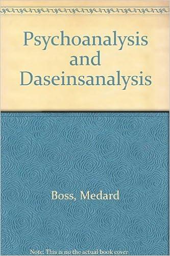 Psychoanalysis and Daseinanalysis