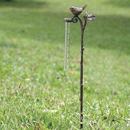 SPI Home 33079 Bird Rain Gauge Garden Stake