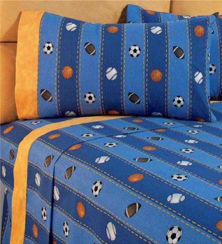Top Seller 'Pelotas' Kids Bedding Collection Bedspread and Sheet Set (Full)
