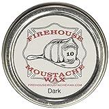 Firehouse Moustache Wax - Dark Wax, 1 Ounce