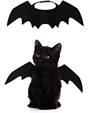 Crewell Halloween Props Pet Dog Cat Bat Wing Cosplay Prop Halloween Vampire Bat Fancy Dress Costume Outfit Wings