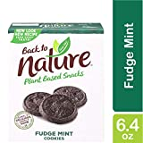 Back to Nature Cookies, Non-GMO Fudge Mint, 6.4