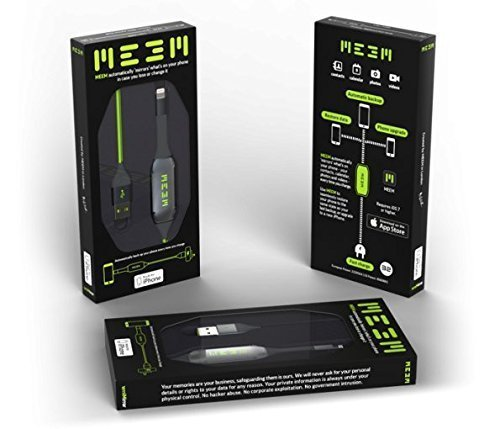 MEEM iOS 128GB The Charger that Automatically Backs Up your Phone or Tablet on to the Cable (MFi Approved) by MEEM (Image #2)