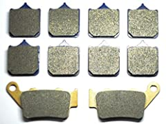 Brand new Sintered metal Front and Rear brake pads will fit : BMW S 1000 RR 2010 Note: You will get 5 pairs of pads.