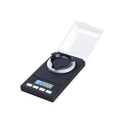 vinmax báscula para joyeros Digital, Báscula de bolsillo de precisión 0.001 g