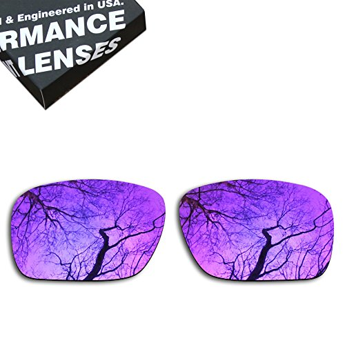 ToughAsNails Polarized Lens Replacement for Oakley Holbrook Sunglass - More - Purple Lenses Holbrook Oakley