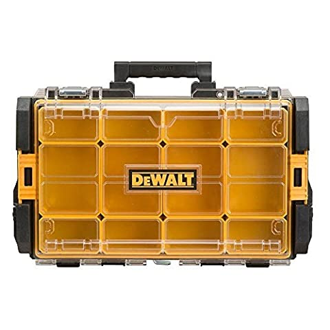 (USA Warehouse) NEW DEWALT 22 in. Tough System Case with Clear Lid Black DWST08202 Tool Box Powe -/PT# (Tough Chest)