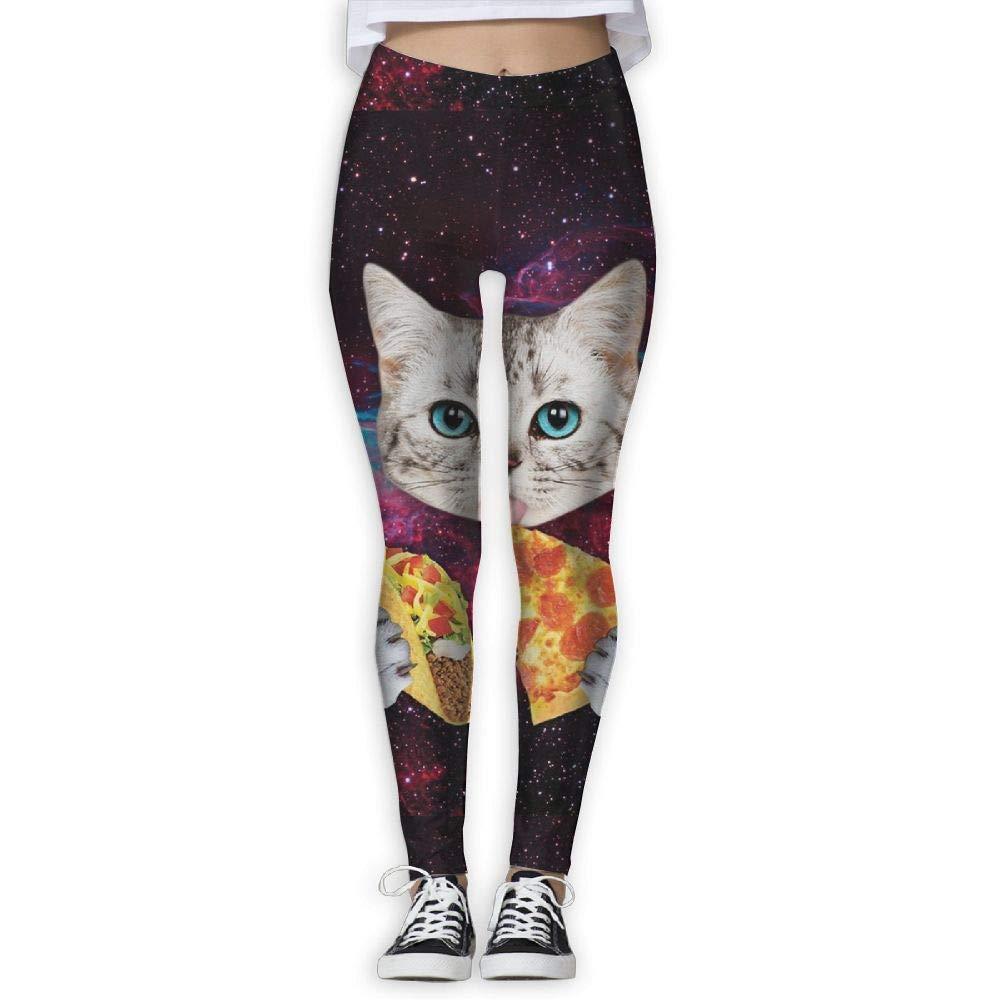 CVDGSAD Taco Cat Pizza.jpg Pantalones de yoga de bolsillo de ...