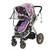 RoseSummer Rain Cover Raincover For Universal Buggy Pushchair Stroller Pram Baby Car