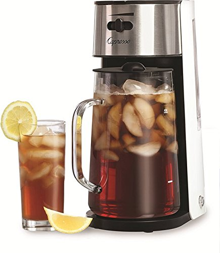 Capresso Stainless Steel Iced Tea Maker with Extra Tea Pitcher by Capresso