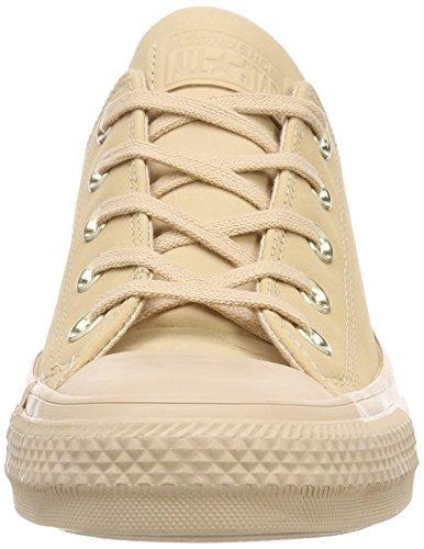 Converse Scarpe Da Ginnastica Per Adulti Ctas Unisex Beige (beige Organico / Beige Organico / Corallo Chiaro 216)